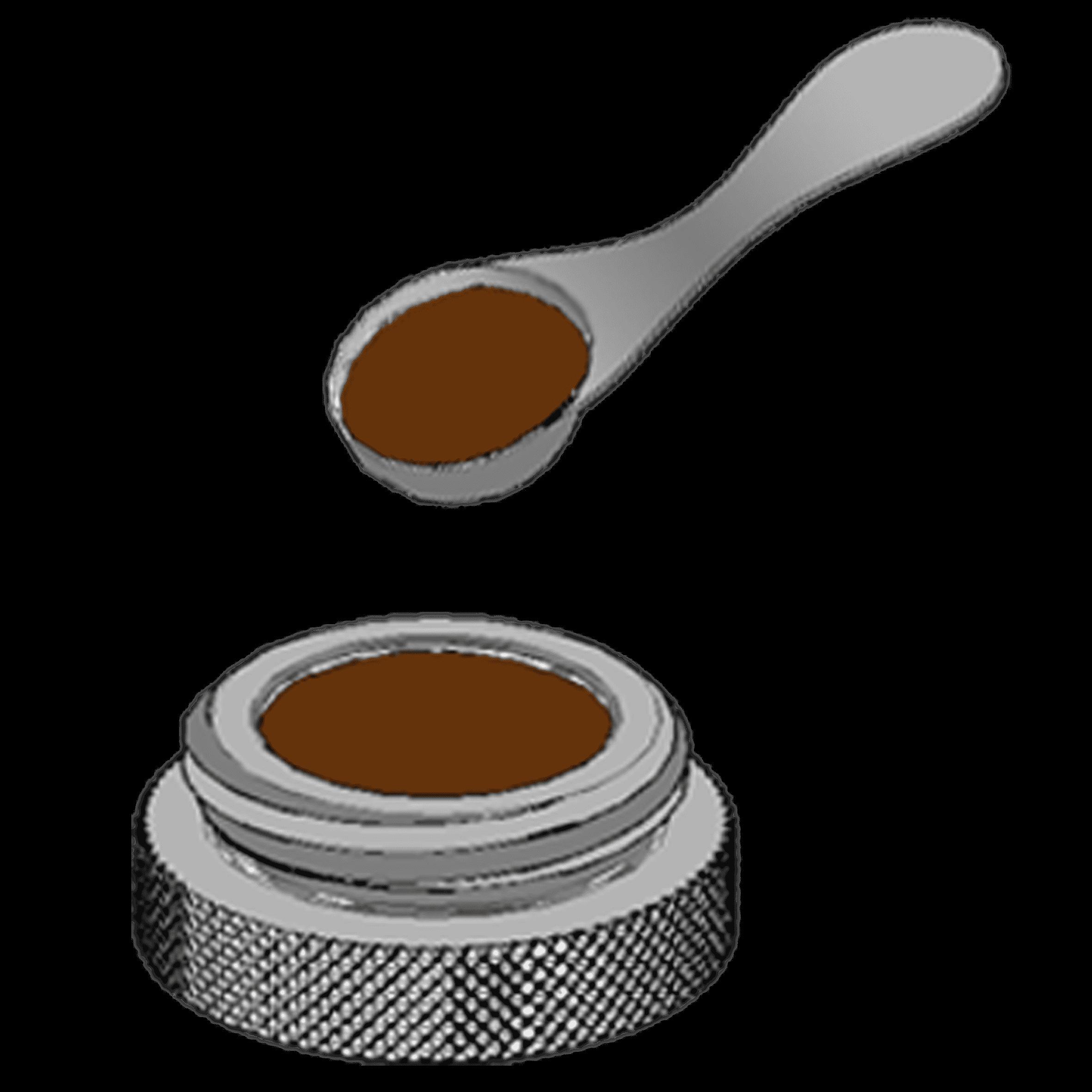 قهوه را در مخزن بریزید